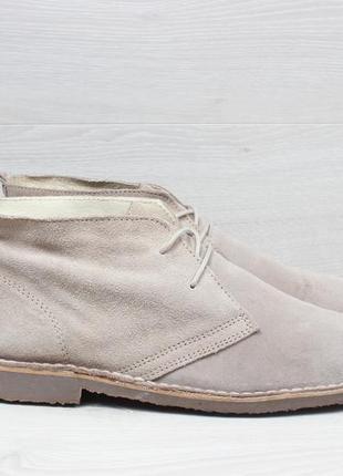Замшевые мужские ботинки дезерты  kurt geiger, размер 44 - 45 ...