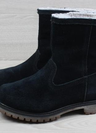 Женские ботинки с мехом timberland оригинал, размер 37 (сапоги)