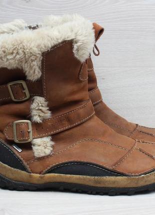 Кожаные женские зимние ботинки merrell waterproof, размер 41.5...