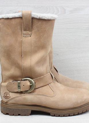 Кожаные женские ботинки timberland waterproof оригинал, размер 38