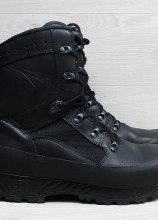 Кожаные мужские берцы haix, размер 47 (зимние ботинки)
