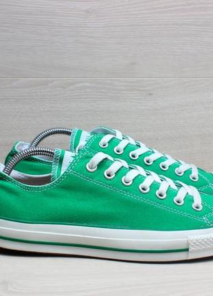 Зеленые мужские кеды converse all star оригинал, размер 43 - 44