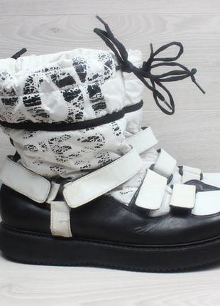 Мужские зимние ботинки dolce & gabbana оригинал, размер 45