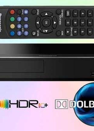 Blu-ray плеер Panasonic DP-UB450 (HDR10, 4K, Dolby Vision, Dol...