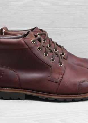 Мужские кожаные ботинки timberland оригинал, размер 46