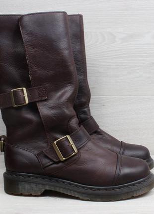 Кожаные женские ботинки dr. martens оригинал, размер 39 (сапоги)