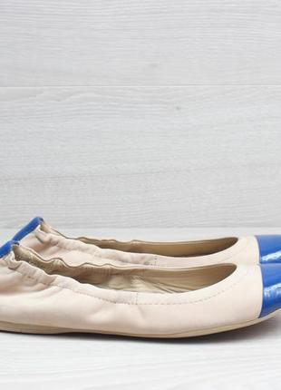 Легкие кожаные балетки geox оригинал, размер 37 (женские туфли)