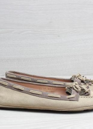 Замшевые женские мокасины geox оригинал, размер 36.5 (балетки,...