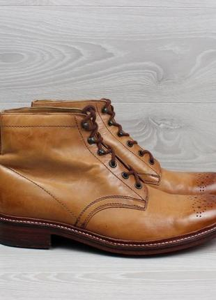 Мужские кожаные ботинки броги timothy everest for m&s, размер 45