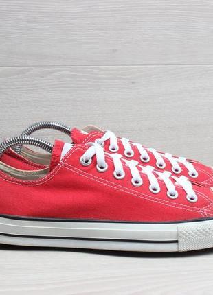 Мужские красные кеды converse red оригинал, размер 42.5