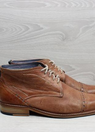 Кожаные мужские ботинки jones bootmakers, размер 44 (демисезон...