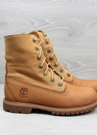 Женские зимние ботинки с мехом timberland оригинал, размер 37