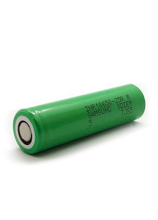 Аккумулятор Li-Ion INR 18650 - 25R Samsung 2500mAh (20A) - 1шт