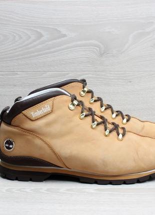 Кожаные мужские ботинки timberland оригинал, размер 43