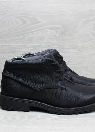 Кожаные мужские ботинки skechers оригинал, размер 41