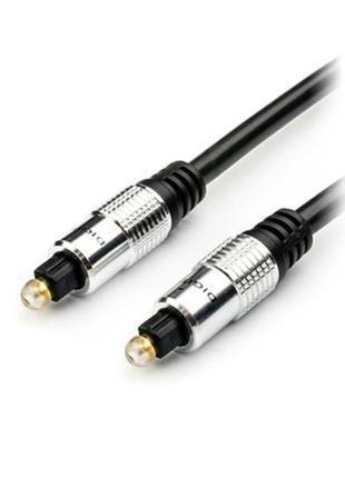 Оптический аудио кабель Toslink (Digital Audio Optical) AtCom 3м