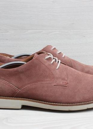 Легкие мужские туфли clarks extralight, размер 47