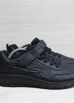Легкие кроссовки на липучках skechers оригинал, размер 37