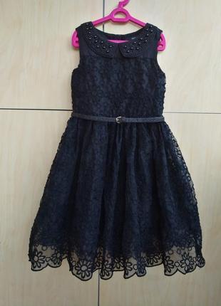 Нарядное платье george на 6-7 лет