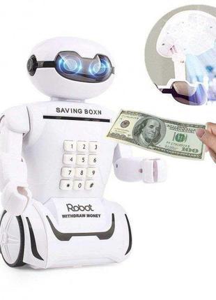 """Сейф детский """"Робот Piggy bank""""   Копилка-робот   Детская копи..."""