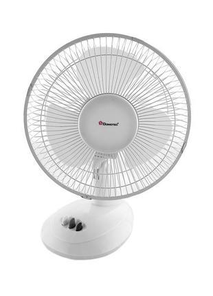 Вентилятор DOMOTEC MS-1624 White/9| Настольный вентилятор| Ком...