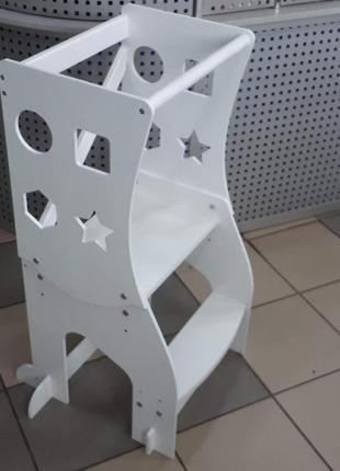 Вежа Монтессорі башня 3 в 1 , стульчик детский, башня Монтессори