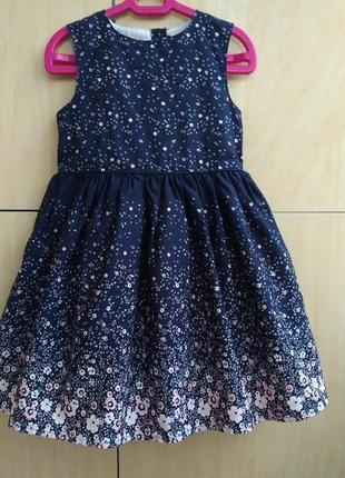 Платье y.d на 2-3 года