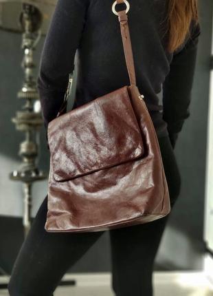 Bel sac. датская кожаная сумка.