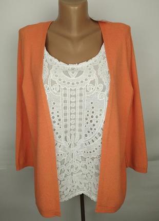 Блуза новая привлекательная с красивым кружевом marks&spencer ...