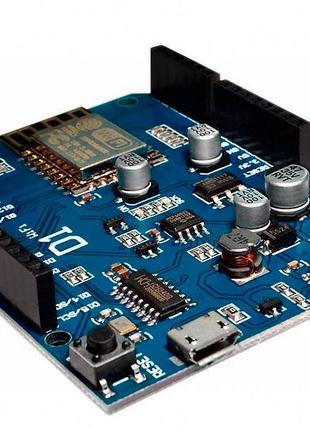 Модуль UNO R3 ESP8266 WiFi ESP-12E WeMos D1. Плата Arduino со ...