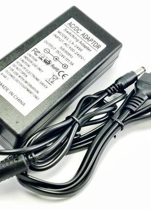 Импульсный адаптер питания 24В 5А. Блок питания LX-2450