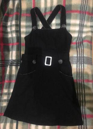 Сарафан платье под гольфик осень зима