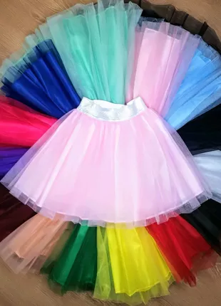Фатиновая юбка пачка на девочку