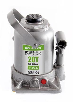 Домкрат гидравлический бутылочный БЕЛАВТО DB20, 20 тонн