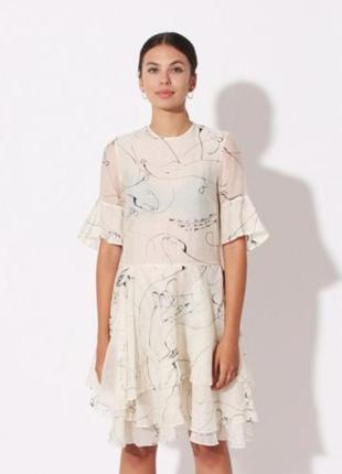Великолепное воздушное платье h&m conscious