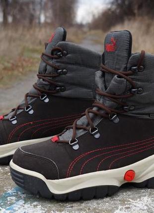 Зимові черевики, кросівки puma tresenta gtx gore-tex