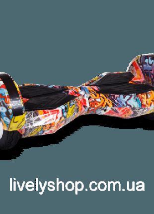 Гироборд Smart Balance Wheel 8 дюймов Оранжевый хип хоп
