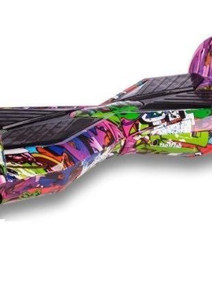 Гироборд Smart Balance Wheel 8 дюймов Фиолетовый хип хоп