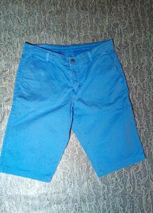 Мужские шорты джинсовые, оригинал. mustang.