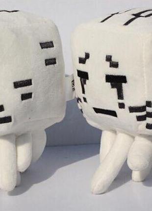 Мягкая игрушка Привидение Майнкрафт Злой Дух minecraft Ghost Гаст