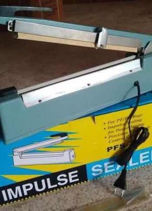 Запайщик пленки ручной PFS-400 алюминиевый корпус с ножом