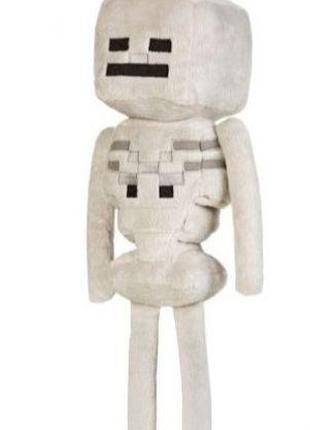 Плюшевая игрушка Скелет из игры Майнкрафт 25см моб Skeleton Mi...