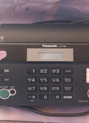 Факс Panasonic KX-FT 984