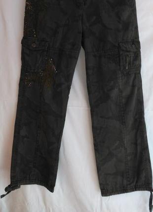 """Супер модняжные военные брюки  """"river island"""""""