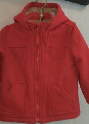 Очень теплая зимняя курточка для ребенка (реальный  торг  умес...
