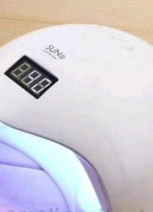 Гибридная Лампа для маникюра и педикюра UV+LED SUN 5 48W