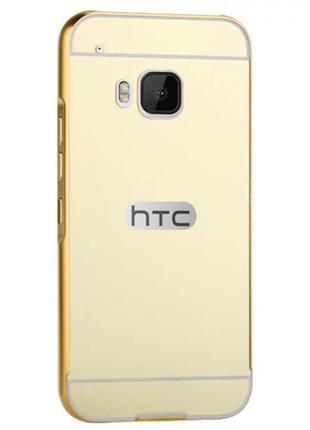 Чехол для HTC One M9 Dual зеркальний металический чохол на НТС...