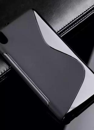 Чехол силиконовый Sline TPU для HTC Desire 816 dual sim на тел...