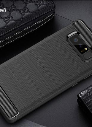 Чехол iPakyTPU Carbon для Samsung Galaxy Note 8 Duos N950F TPU...