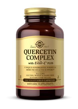 Комплекс кверцетин с эфиром-С плюс Солгар / Solgar Quercetin C...